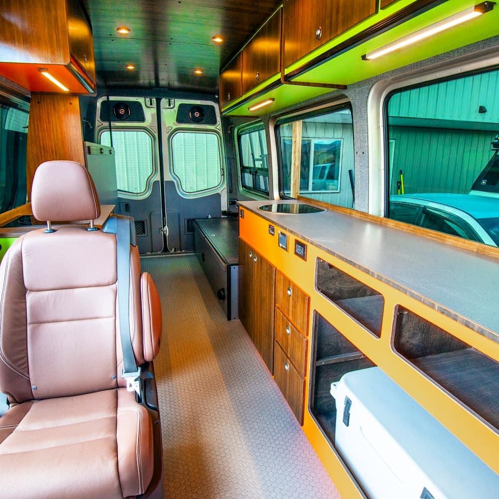Ford Transit Camper ideas de conversión y de la inspiración
