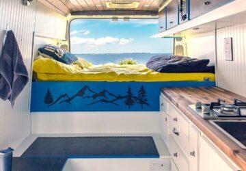 Conversiones de Dodge ProMaster |  Estacionado en el paraíso