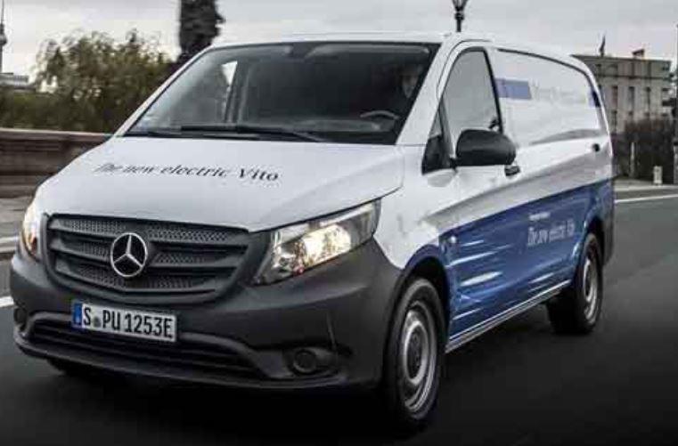 4 Mercedes Benz eVito