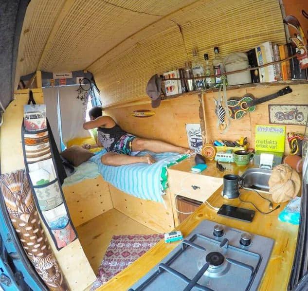 @emreunal Cómo diseñar el interior de tu furgoneta