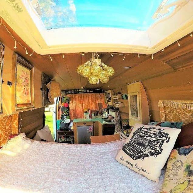 @glampervanlucy Cómo diseñar el interior de tu furgoneta