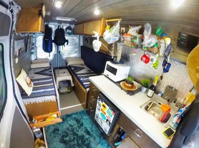 @vanlife904 Cómo diseñar el interior de tu furgoneta