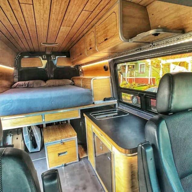 @zenvanz Cómo diseñar el interior de tu furgoneta