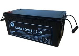 Batería Agm 12V para Furgoneta camper o RV