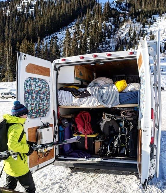 Calentar una camioneta con un calentador de diesel o gas