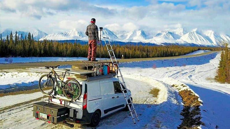 Calentar una furgoneta con Diesel