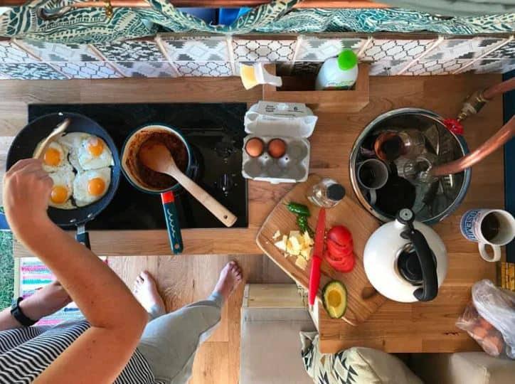 Cocinar con electricidad