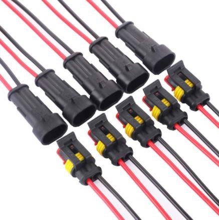 Conectores Electricos 12V para Furgoneta camper o RV