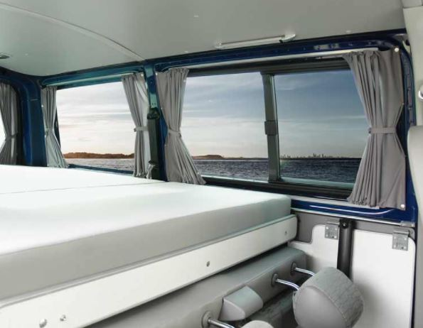 Cortinas furgoneta camper