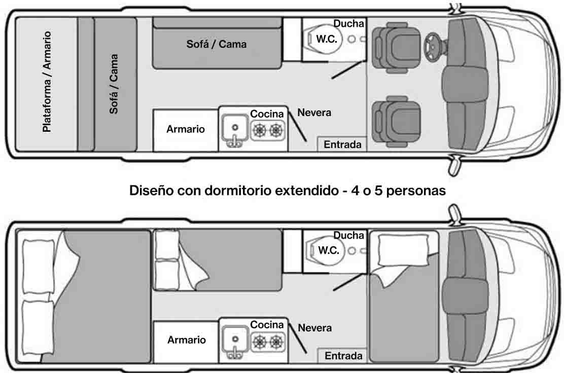 Diseno con dormitorio