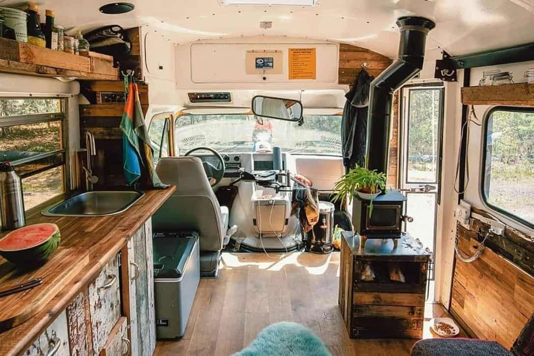 GMC Short Bus Adventure Van 3
