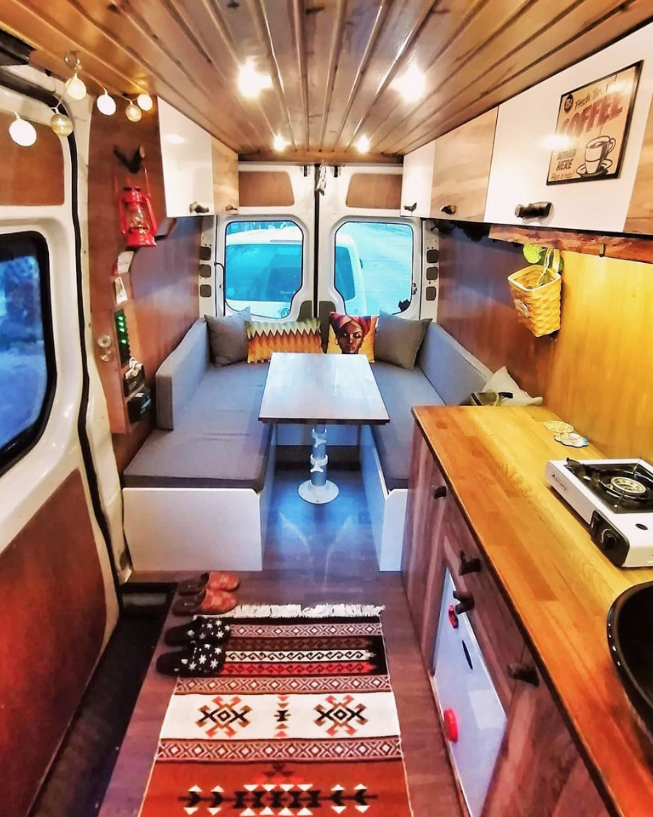 Mercedes Sprinter Camper Interior 1