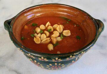 Receta vegana: sopa de maní senegalesa