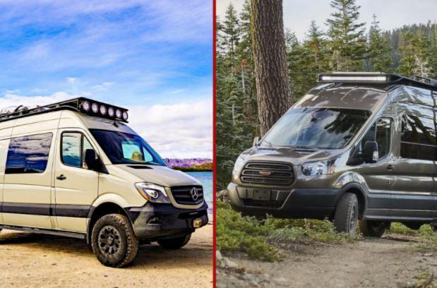 Sprinter VS Transit - ¿Cuál es la mejor furgoneta para convertir.