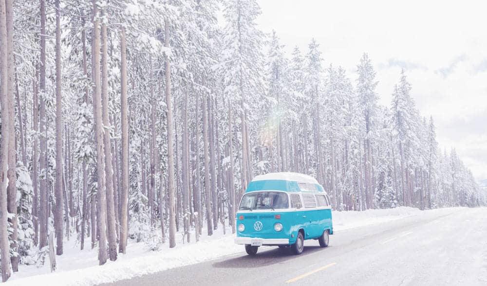 Cómo calentar tu furgoneta en invierno