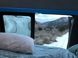Condensación, humedad y punto de rocío en ventanas campers