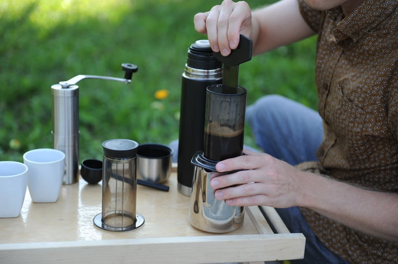 aeropress camp coffee maker