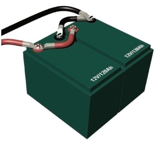 baterias conectadas en serie