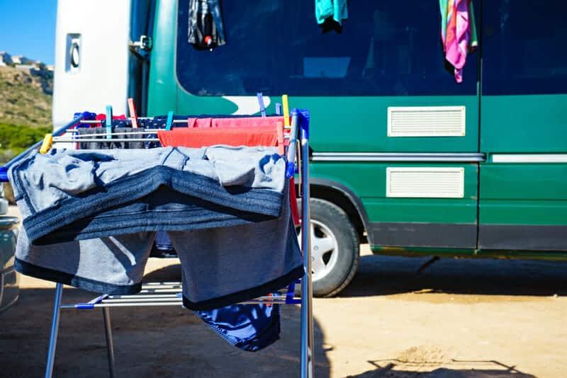 La mejor lavadora portátil para acampar