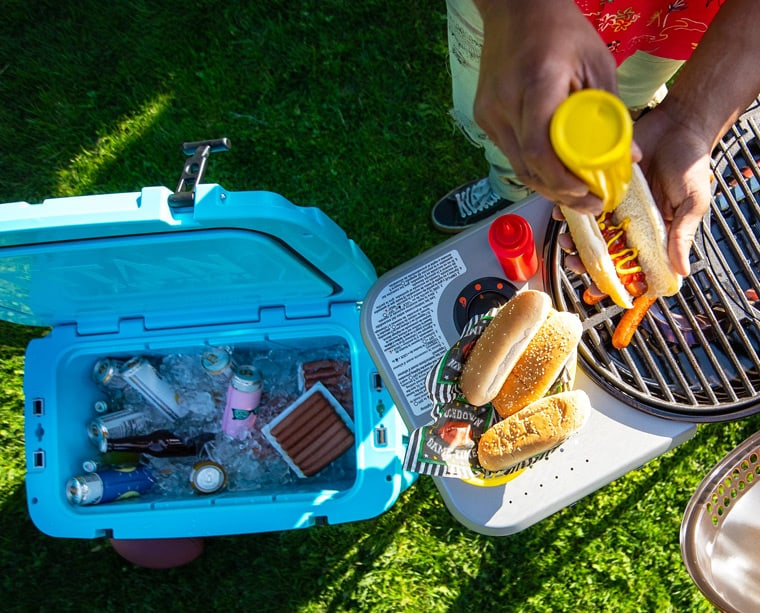 camping portable cooler