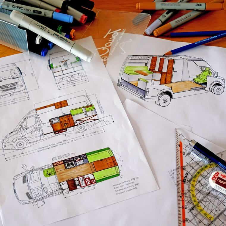 designing camper layout