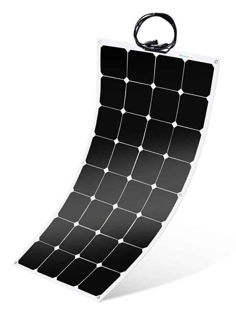flexible solar panel rv