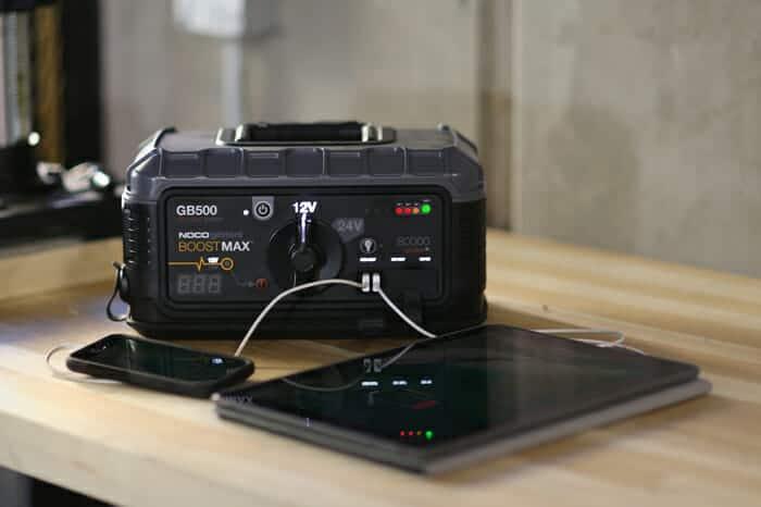 gb500 dual usb charging