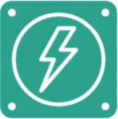 icono guía electricidad