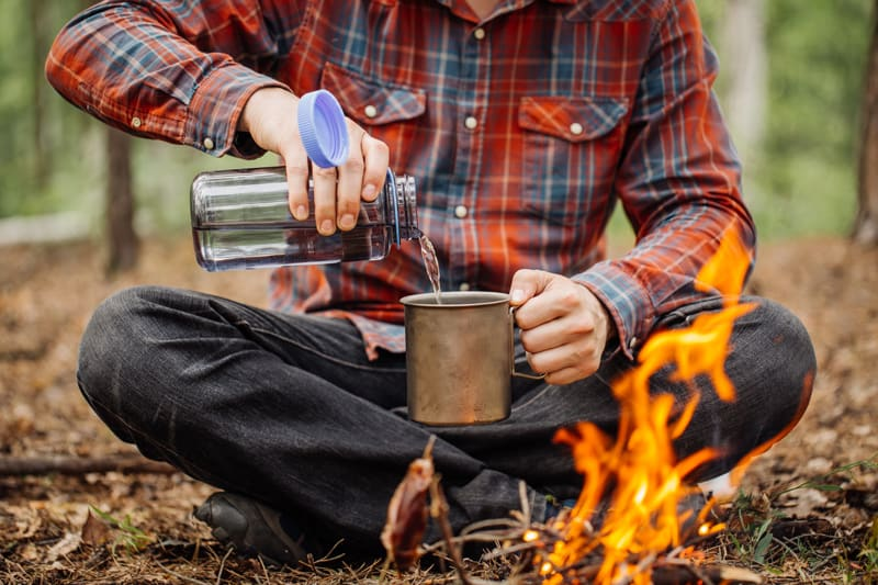 instant camping coffee