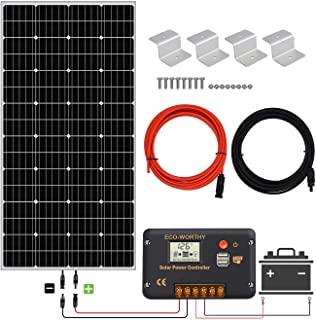 Sumario de Kit Paneles Solares Rv disponibles