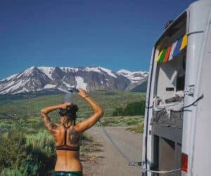 Cómo encontrar duchas cuando se vive en una furgoneta