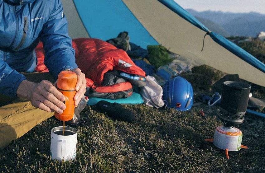 portable camping espresso maker