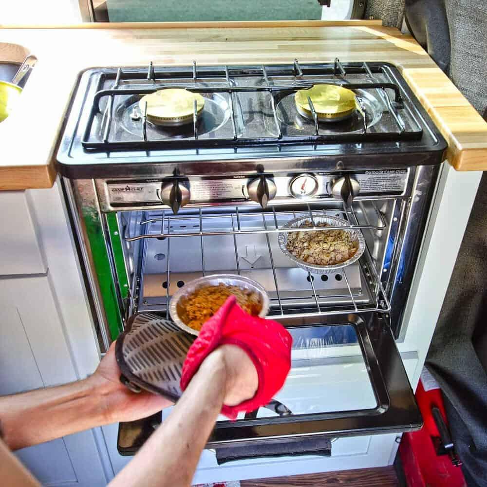Revisión del horno portátil para camperizaciones