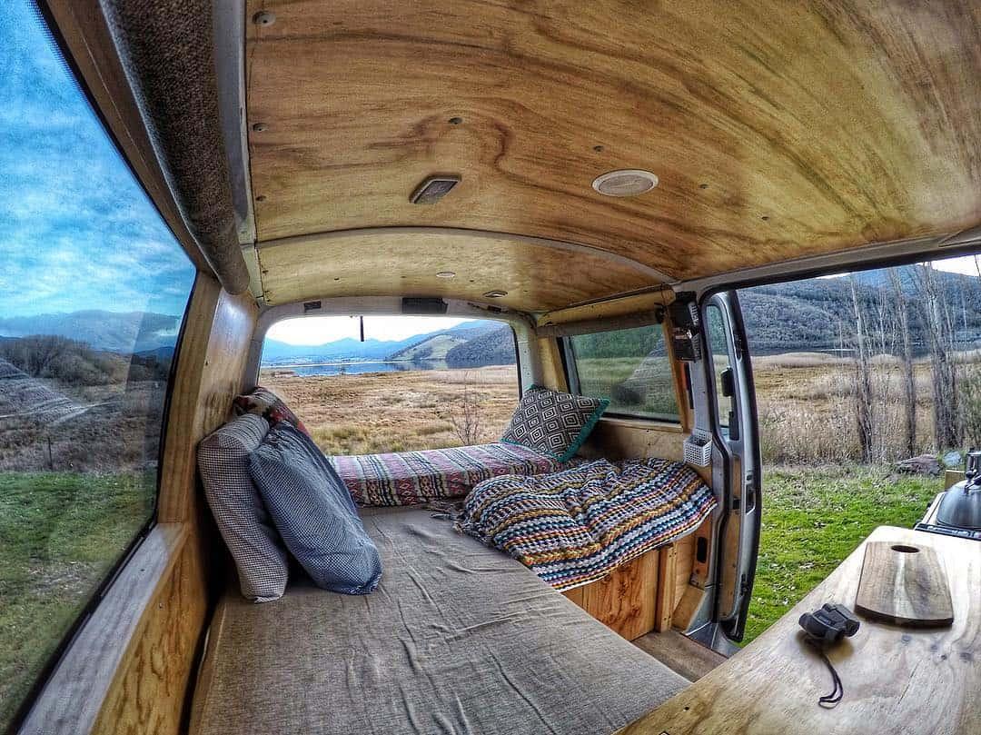 Paredes aislantes de furgonetas para clima caliente