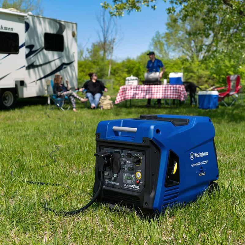 rv camping generator