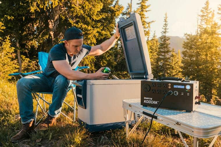 solar generator camping