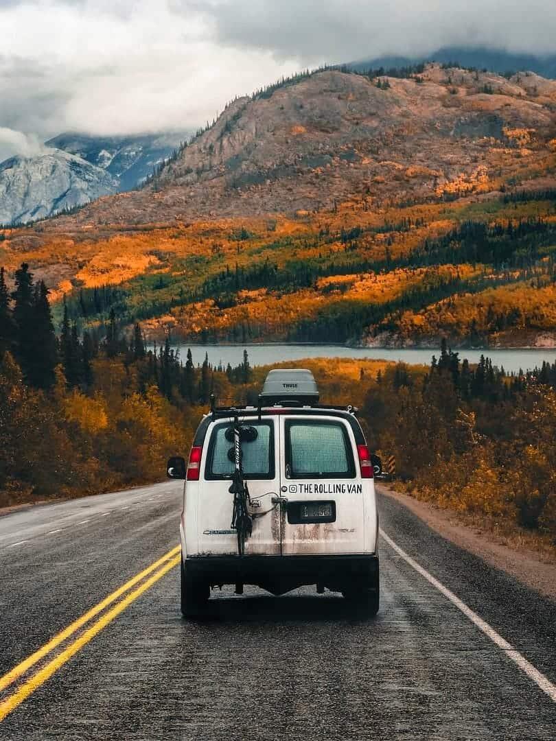 traveling in conversion van