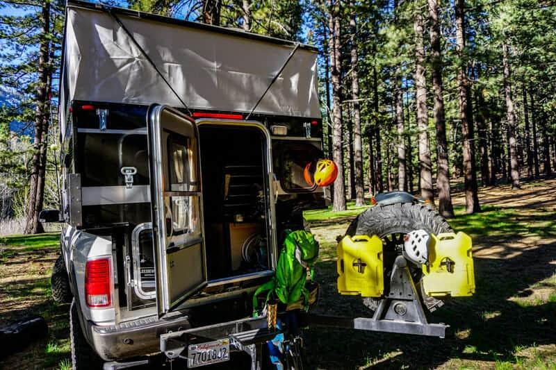 truck camper accessories