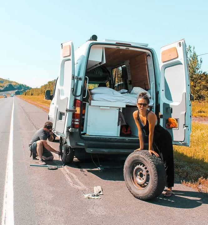 van life repairs