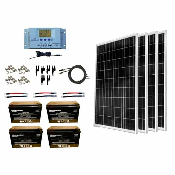 windynation rv solar panel kit
